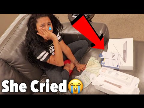 SURPRISING MY GIRLFRIEND WITH OVER $10,000 IN GIFTS *SHE CRIED*