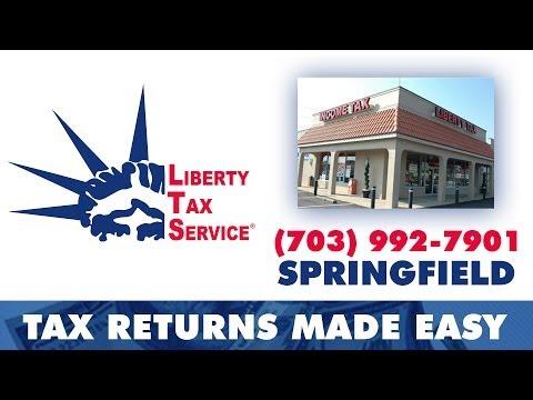 Tax Preparation Springfield VA - Liberty Tax Service