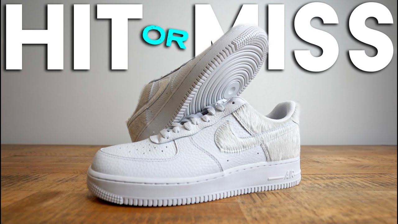 Nike Air Force 1 PONY HAIR Review & On-Foot - NOT like product images?