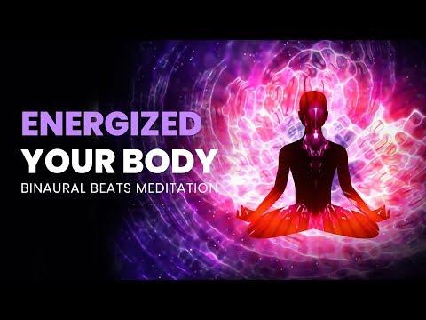 Energize Your Body: Healing Tissue, Full Body Healing, Binaural Beats - Repair Damaged Organ