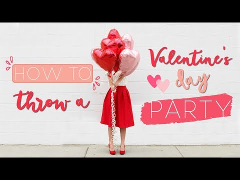 DIY Valentine's Day Party - Valentine's Day Decor, Treats, and DIY Photo Booth!