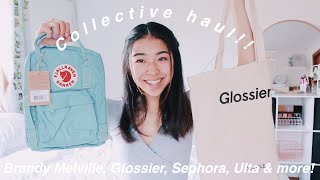 Another Collective Haul!! // Brandy Melville, Forever21, Sephora, Ulta, Kanken, Chacos + more!