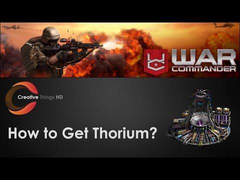 How to get 1 M Thorium in War Commander?