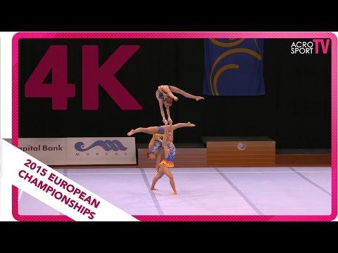 Van Os, Ruijsch, Van Mook - Netherlands - Womens group - Junior - Final - European Championship 2015