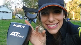 Nikki's best coin spill metal detecting!