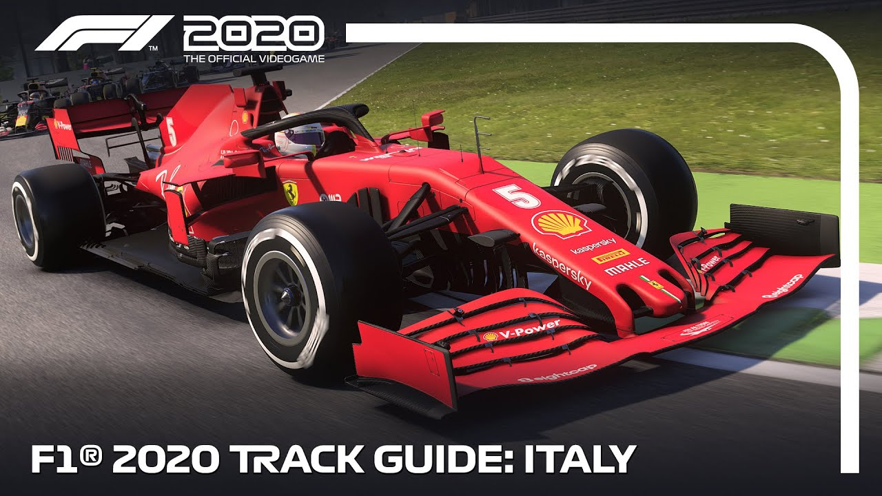 F1 2020 Track Guide: MOnza