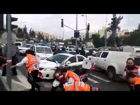 פיגוע דריסה בירושלים