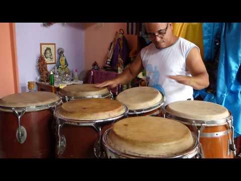 EL PANGA CUBAN CONGA PLAYER