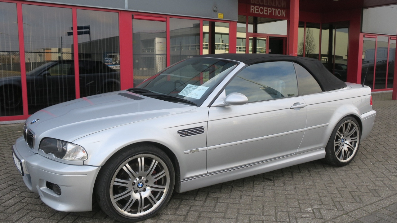 750400 bmw m3 e46 cabrio 3 2l 09 2002 silver 343hp smg2 92846miles rhd youtube. Black Bedroom Furniture Sets. Home Design Ideas