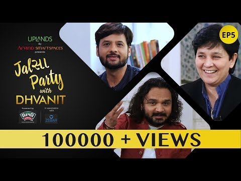 Jalsa Party With Dhvanit  Episode 5 : Falguni Pathak and Parthiv Gohil  Dhvanit Thaker
