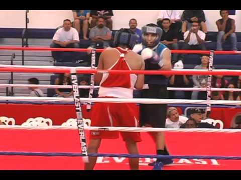 Brandon Flores vs Edwin Orozco- Oxnard PAL National Boxing Championships 2010