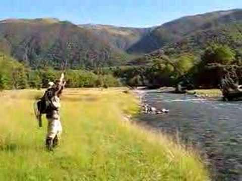 fly fishing hookup