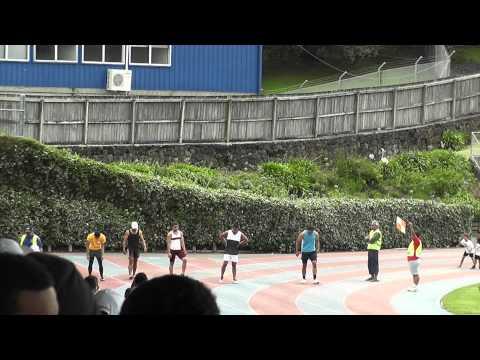 2011 Niue Sports day 100m