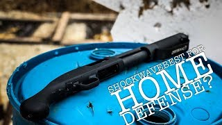 Should This Little Guy Be The Only Gun Under Your BED? Shockwave 12ga Review