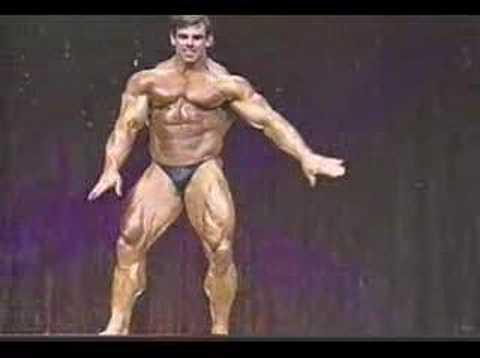 Bodybuilder Jim Quinn Posing Ironman