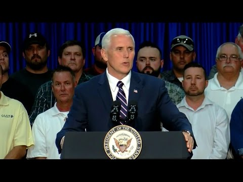 Vice President Pence talks budget, security in Baton Rouge