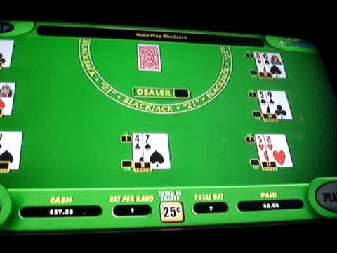Blackjack virtual machine