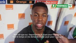 Adama Traoré , joueur d'Aston villa hésite entre L'équipe du Mali et l'Espagne