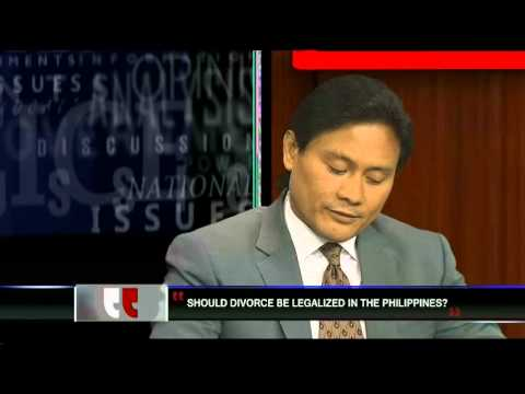 Opposing Views Episode 33 - Should Divorce Be Legalized in the Philippines?