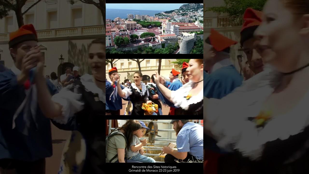 1ère Rencontre des Sites historiques Grimaldi de Monaco