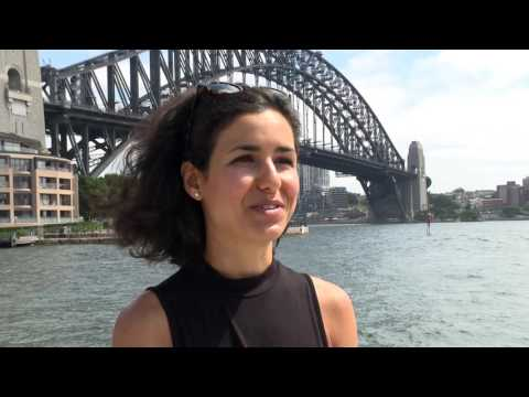 Stefania Petridou talks about becoming an Australian citizen on Australia Day (extended)