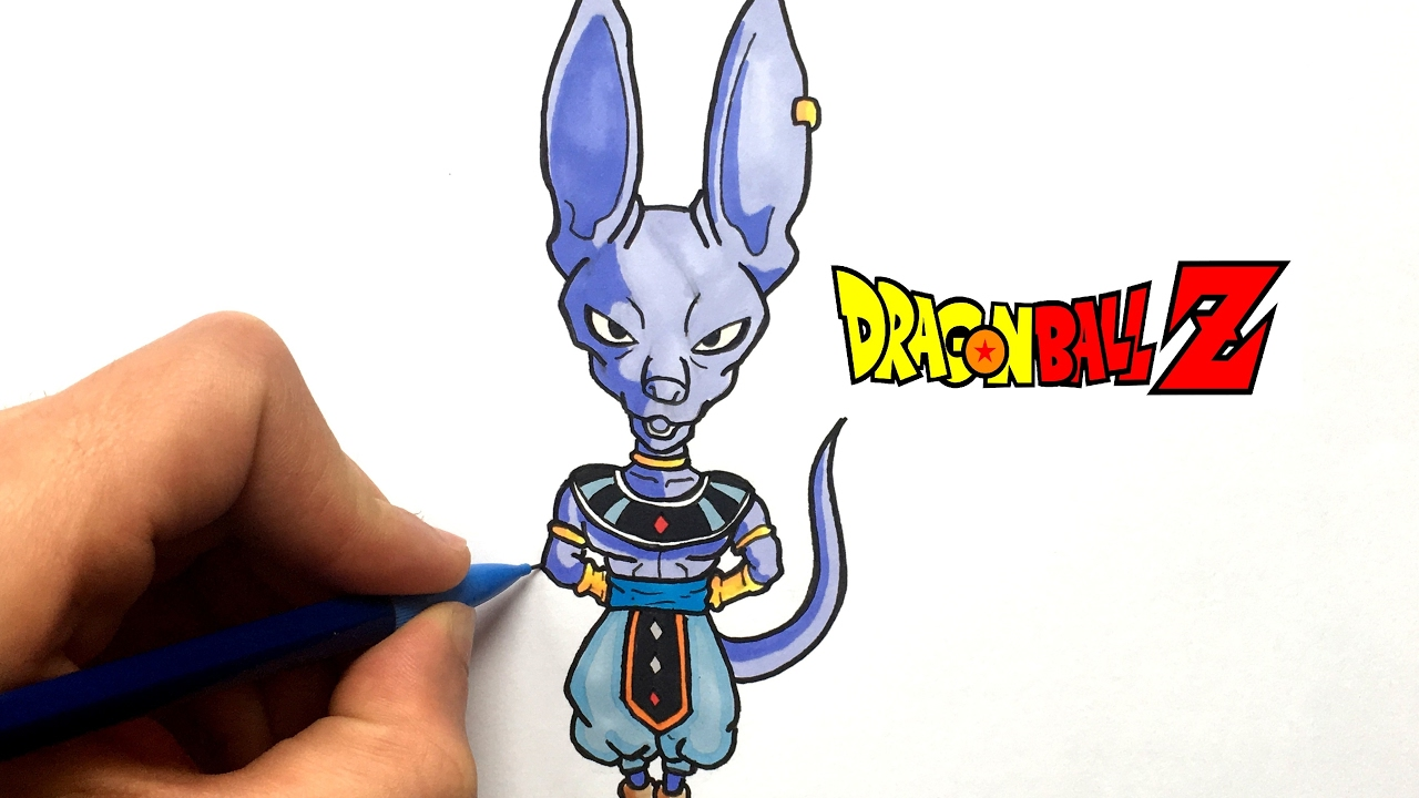 Dessin Beerus Chibi Dragon Ball Super Youtube
