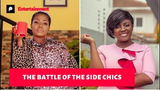 Tracey Boakye and Mzbel dirty themselves on social media over a married man.