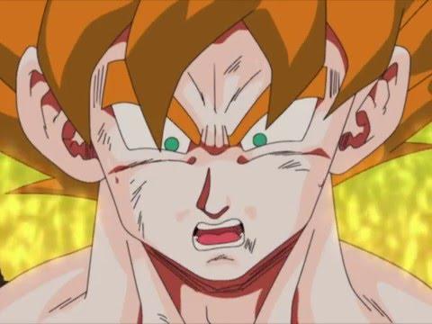 DBZ Kai - Goku Turns Super Saiyan (With Faulconer Music)