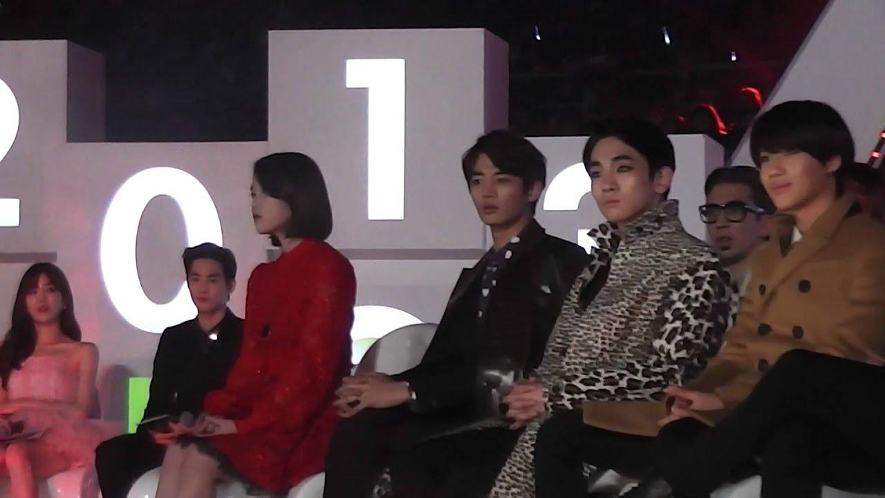 131114 Iu Shinee At Melon Music Award Part1 Youtube