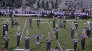 denton high school band 10 25 2013 azle