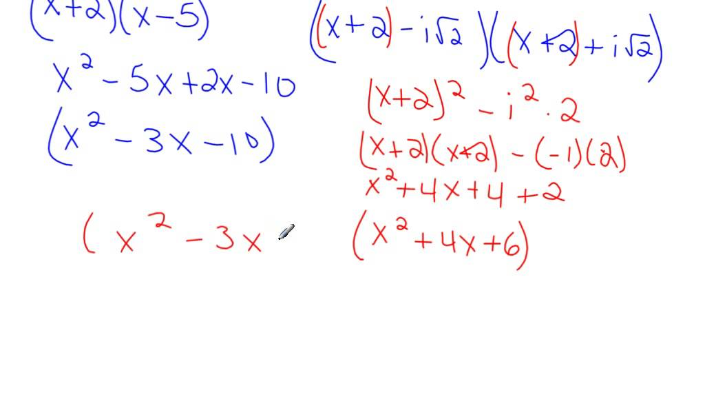 Finding 4th Degree Polynomial Given Zeroes
