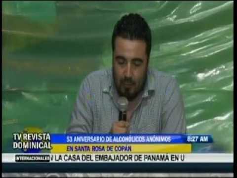 Alcohólicos Anónimos celebraron su 53 Aniversario en Santa Rosa de Copán