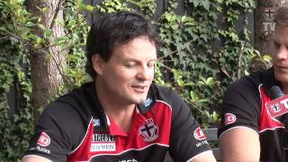 Nick Riewoldt introduces new Coach, Scott Watters