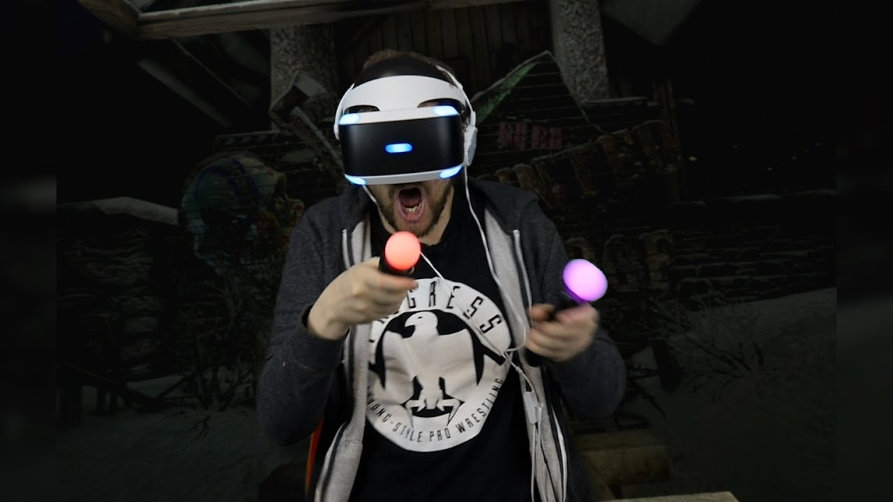 PlayStation VR - Adam Pacitti's First Time
