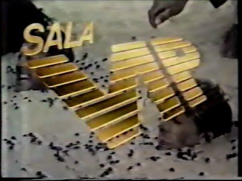 Chamada Sala Vip : Saara 22/07/1987 - Rede Manchete