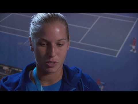 Dominika Cibulkova interview (third round) - 2014 Australian Open