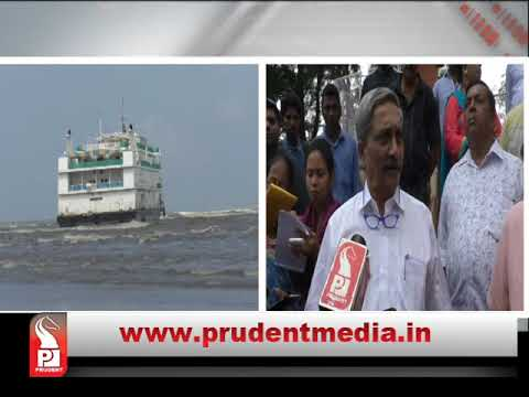 GUSHING HOLE IN LUCKY  SEVEN DELAYED REMOVAL: PARRIKAR│Prudent Media