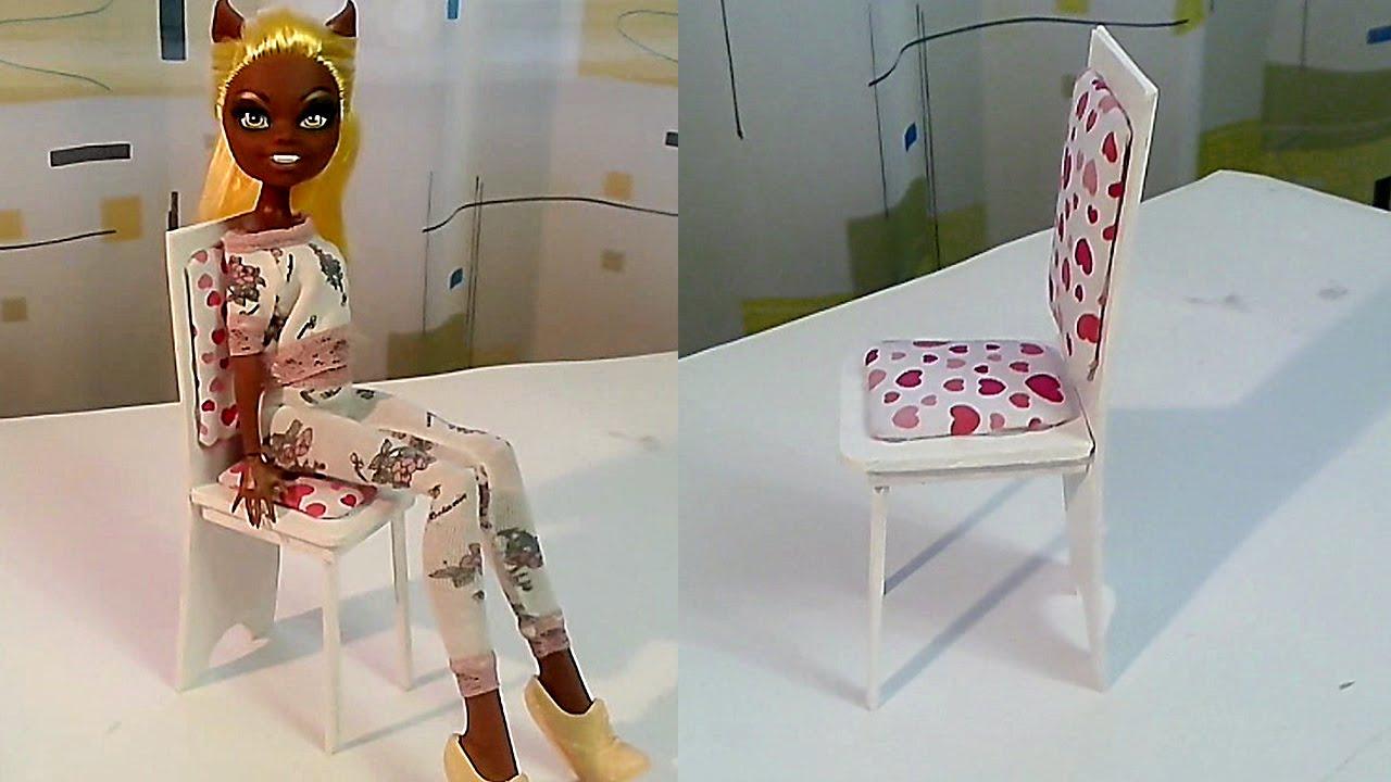 Как сделать кукольный стул фото 179