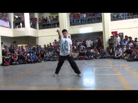 Audition by RUSHIN NAYAK in TECHNO ASPIRE'15.