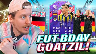 THE GOAT SBC?! 90 FUT BIRTHDAY OZIL PLAYER REVIEW! FIFA 21 Ultimate Team