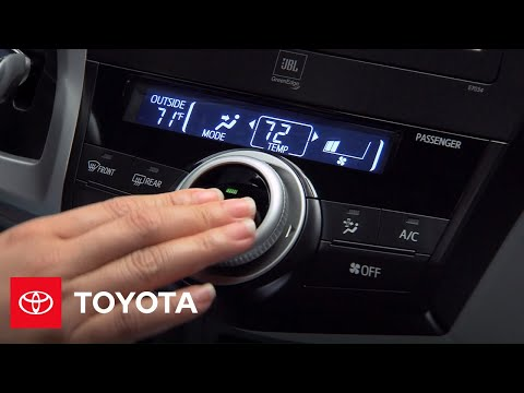 2012 Prius v How-To: Manual Controls | Toyota