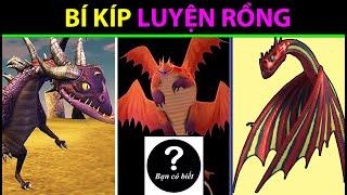 Top 4 băng đảng RỒNG ĐÁNG SỢ nhất| How To Train Your Dragon| TOP 4 STRONGEST DRAGON GANGS