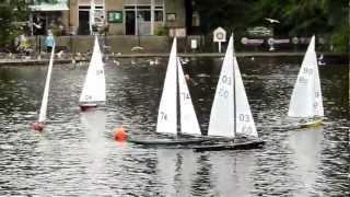 J Class sailing at Etherow.