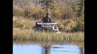 The crew from The Outdoor Quest TV show talking about and using Argos while hunting and fishing.