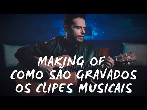Como é feito um clipe musical (Making Of)