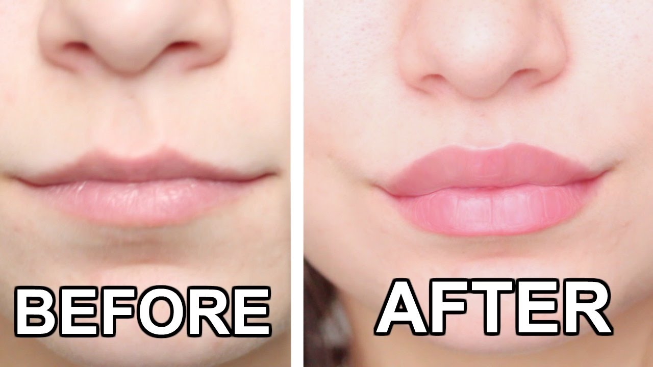 how to change the size of your lips