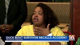 Duck Boat Survivor Recalls Accident