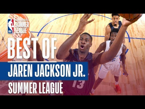 Best Of Jaren Jackson Jr. | 2018 MGM Resorts Summer League