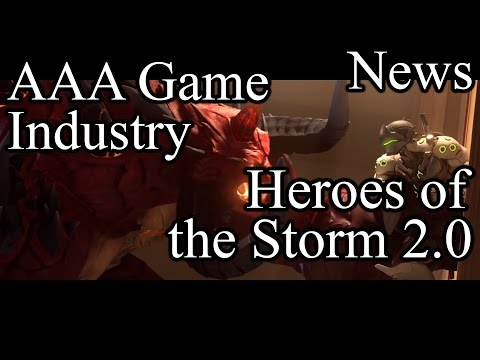 Heroes of the Storm 2.0, State of the AAA game industry, Switch Sales Numbers - News April 2017