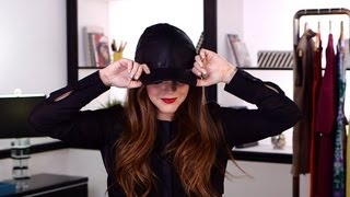 Diy Fashion | How To Make A Leather Baseball Cap | Designer Diy